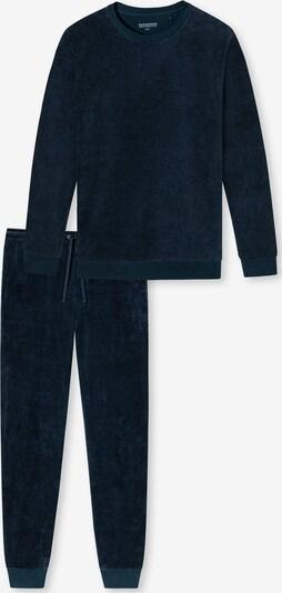 SCHIESSER Schlafanzug lang ' Fashion Nightwear ' in nachtblau, Produktansicht