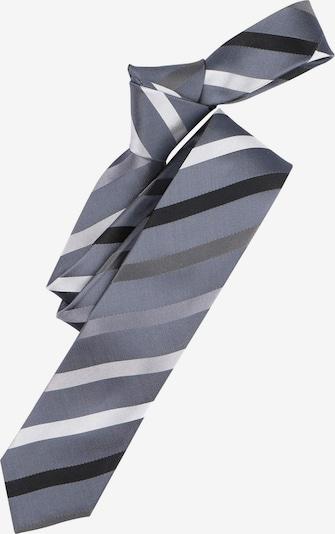 Venti Krawatte in anthrazit / weiß, Produktansicht