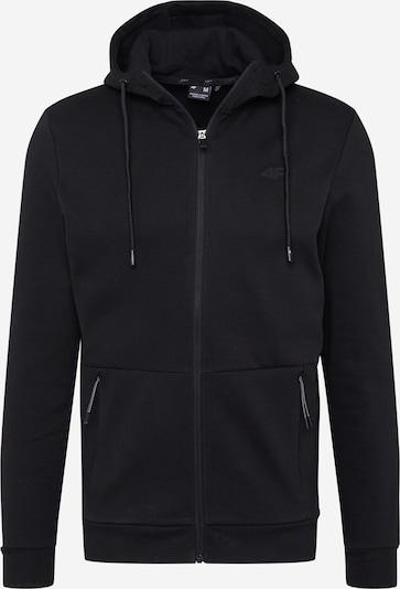 4F Sporta jaka ar kapuci melns, Preces skats
