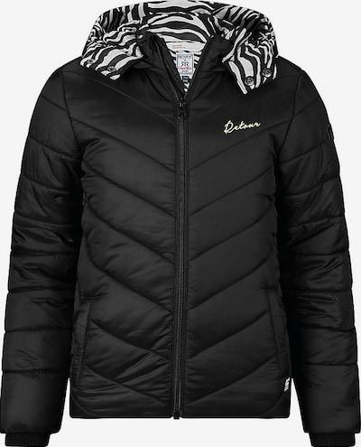 Retour Jeans Winterjacke 'Anita' in schilf / schwarz / weiß, Produktansicht