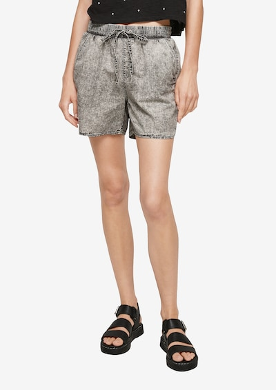 Q/S by s.Oliver Jeans in grey denim, Modelansicht