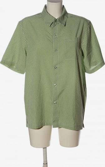 KILLTEC Kurzarmhemd in M in grün / weiß, Produktansicht