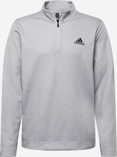 ADIDAS PERFORMANCE Sportiska tipa džemperis, krāsa - pelēks / melns, Preces skats