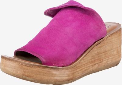 A.S.98 Pantolette 'Noa' in fuchsia, Produktansicht