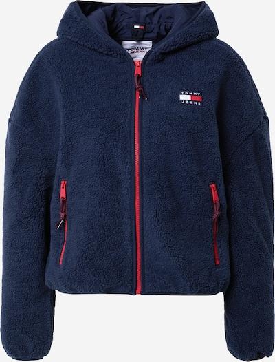 Geacă de primăvară-toamnă Tommy Jeans pe bleumarin / roșu / alb, Vizualizare produs