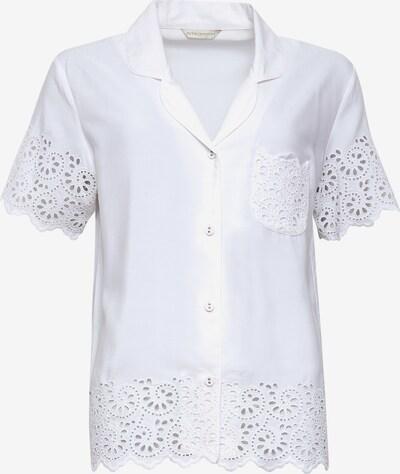 Cyberjammies Pyjamabluse 'Leah Aoe' in weiß, Produktansicht