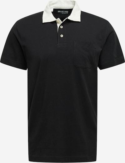 SELECTED HOMME Shirt 'Nigel' in de kleur Grijs gemêleerd / Zwart, Productweergave