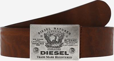 DIESEL Opasky 'FILIN' - hnedá / strieborná, Produkt