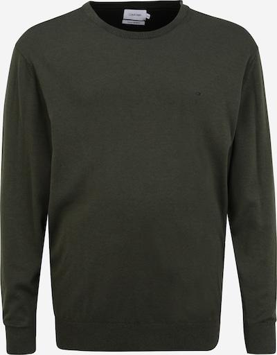 Calvin Klein Big & Tall Pullover in oliv / schwarz, Produktansicht