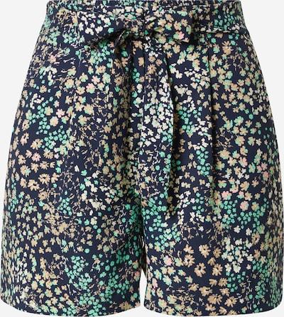 VERO MODA Pantalon à pince 'HANNAH' en crème / bleu foncé / jade / orange pastel / rose, Vue avec produit