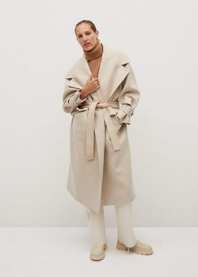 bézs MANGO Átmeneti kabátok, Modell nézet