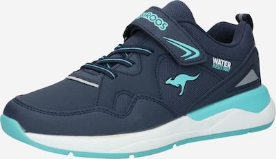 KangaROOS Sneaker i marinblå / turkos, Produktvy