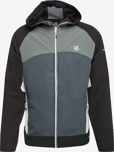 DARE 2B Sportjacke in grau / schwarz / weiß: Frontalansicht