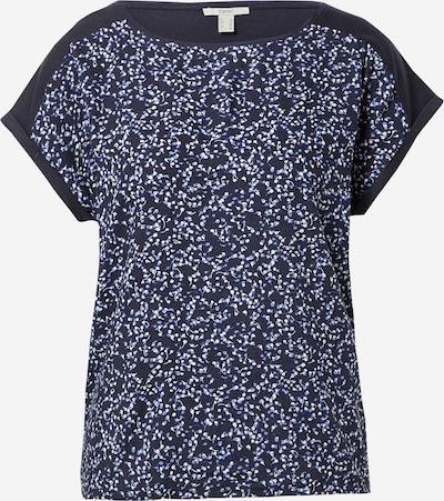 Tricou ESPRIT pe bleumarin / albastru regal / alb, Vizualizare produs