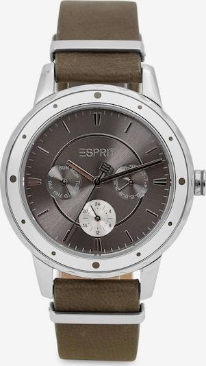 ESPRIT Analoog horloge in de kleur Zilvergrijs / Donkergrijs, Productweergave