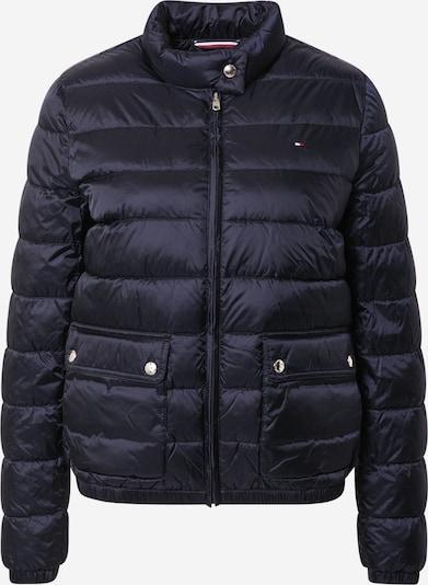 TOMMY HILFIGER Jacke in nachtblau / feuerrot / weiß, Produktansicht