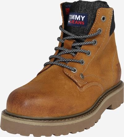 Tommy Jeans Šněrovací boty - karamelová / tmavě šedá, Produkt