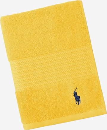 Ralph Lauren Home Towel 'POLO PLAYER' in Yellow