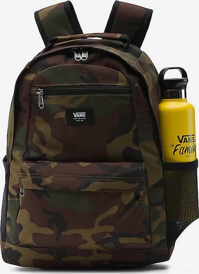 VANS Rucksack 'Startle' in braun / khaki / schwarz / weiß, Produktansicht