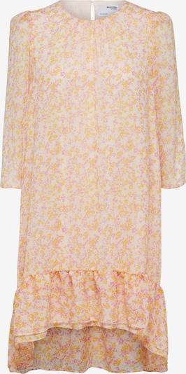 SELECTED FEMME Robe-chemise 'Jeanie-Gracy' en jaune / mauve / blanc, Vue avec produit