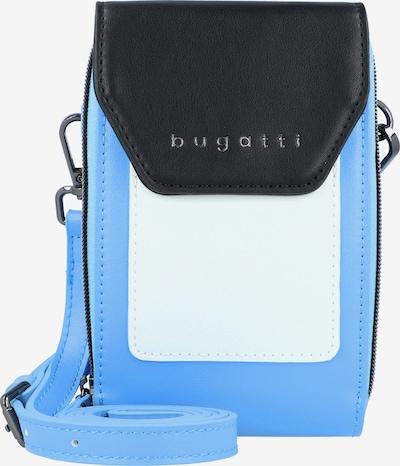 bugatti Smartphonehülle 'Alma' in himmelblau / schwarz / offwhite, Produktansicht