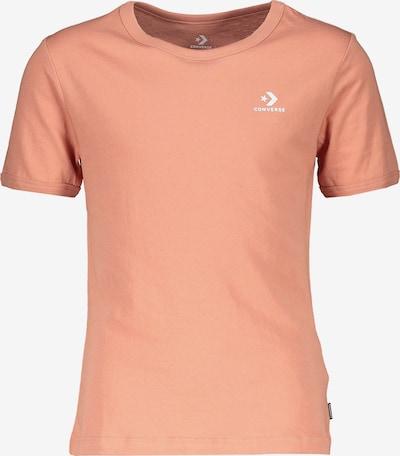 CONVERSE T-Shirt in lachs, Produktansicht