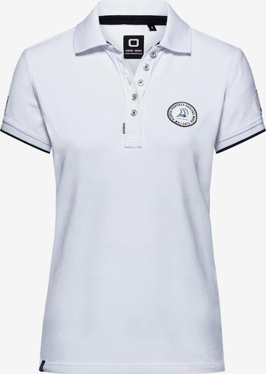 CODE-ZERO Poloshirt 'Portals Sailing Week' in weiß, Produktansicht