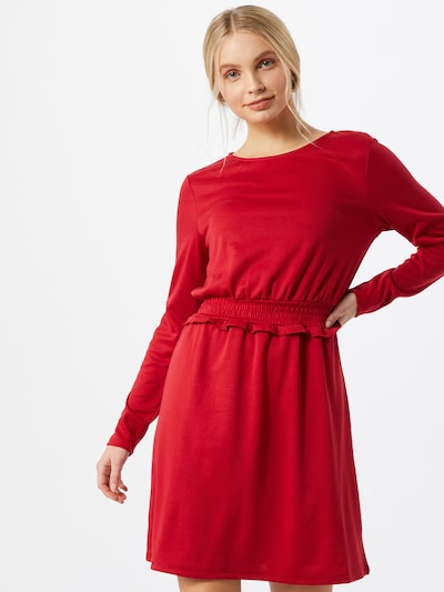 VILA Kleid 'VITinny' in rot, Modelansicht