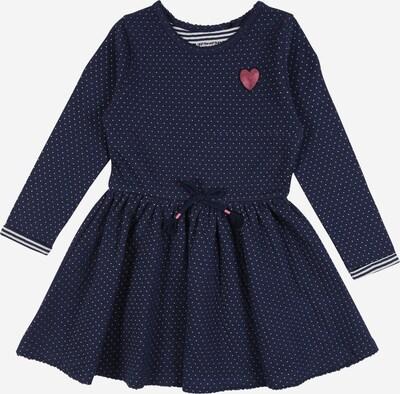 STACCATO Kleid in dunkelblau / rosé / schwarz / weiß, Produktansicht