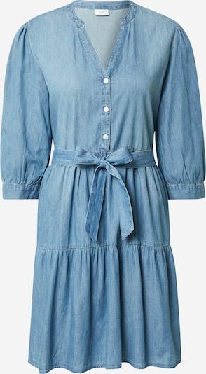 JACQUELINE de YONG Shirt dress 'SILLE' in blue denim: Frontal view