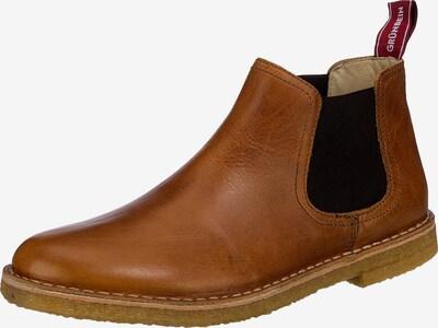 Grünbein Boots in camel / schwarz, Produktansicht