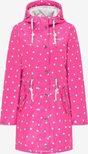 Schmuddelwedda Regenparka in pink / weiß, Produktansicht