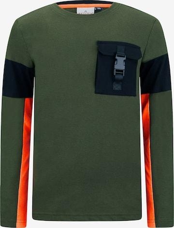 Retour Jeans Paita 'Noud' värissä vihreä