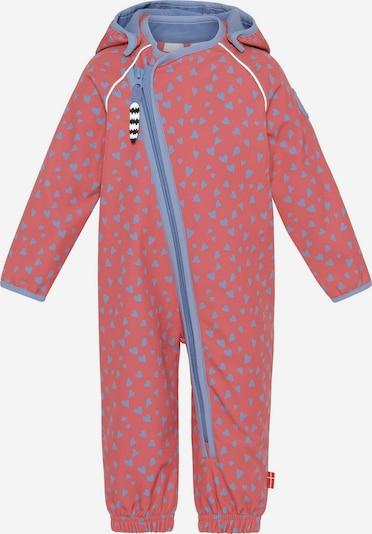 Racoon Outdoor Costume fonctionnel 'Eva' en bleu fumé / corail, Vue avec produit