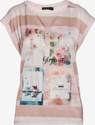 Decay Kurzarmshirt in rosa, Produktansicht