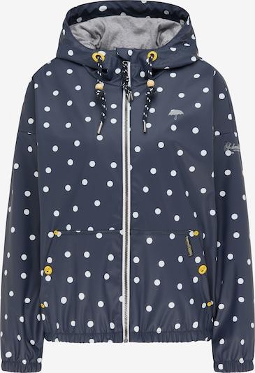 Schmuddelwedda Jacke in marine / grau / weiß, Produktansicht