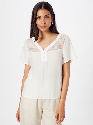 VILA Bluse 'BINI' in Weiß