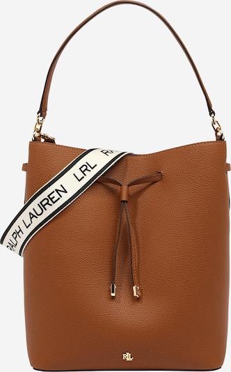 Sutraukiama rankinė 'DEBBY' iš Lauren Ralph Lauren , spalva - ruda, Prekių apžvalga