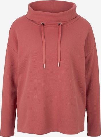 TOM TAILOR Sweatshirt in Pink