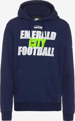 Nike Sportswear Hoodie 'Seattle Seahawks' in Blau