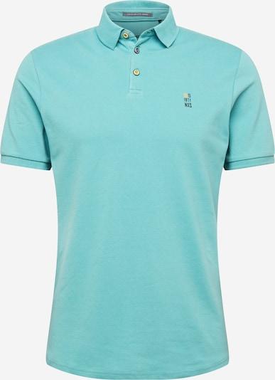 No Excess Poloshirt in türkis / dunkelblau, Produktansicht