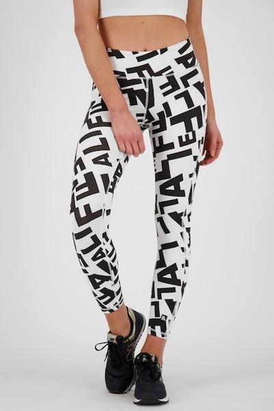 Alife and Kickin Leggings in schwarz / weiß, Modelansicht