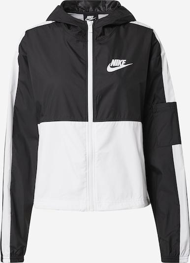 Nike Sportswear Kevad-sügisjope must / valge, Tootevaade