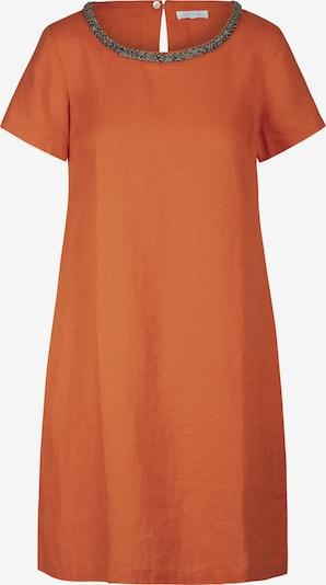 mint & mia Kleid mit Perlen mit Rundhalsausschnitt in orange, Produktansicht