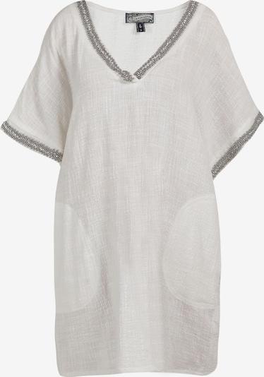 DreiMaster Vintage DreiMaster Vintage Shirtkleid in weiß, Produktansicht