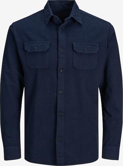 JACK & JONES Hemd in dunkelblau, Produktansicht
