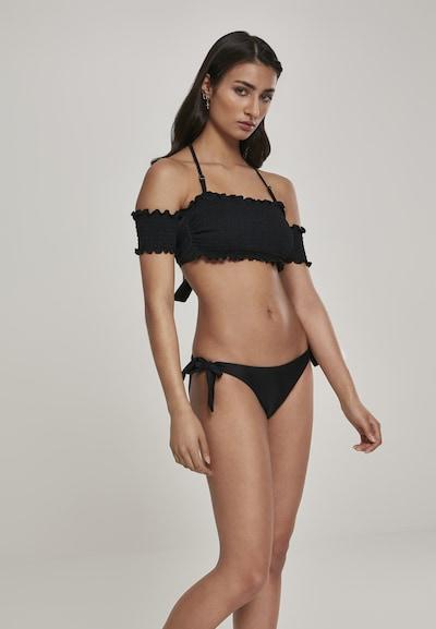 Urban Classics Bikini in de kleur Zwart, Modelweergave