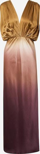Abito da sera Mes Demoiselles di colore oro / melanzana / rosa antico / bianco, Visualizzazione prodotti