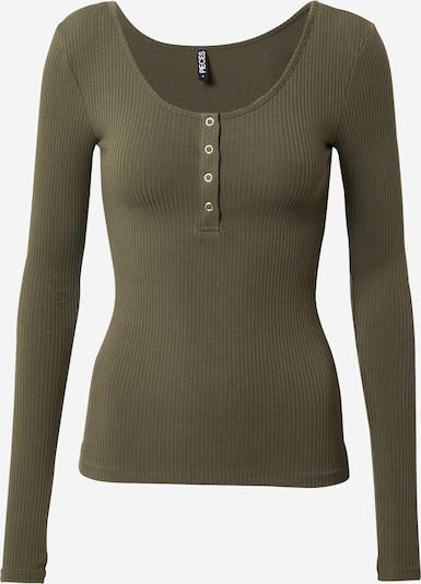PIECES T-shirt 'Kitte' en olive, Vue avec produit
