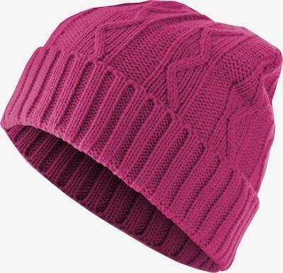 MSTRDS Bonnet en magenta, Vue avec produit